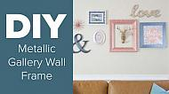 Americana Decor Metallics Gallery Wall