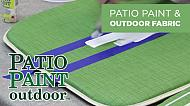 Outdoor Fabric Projects Using Patio Paint Outdoor