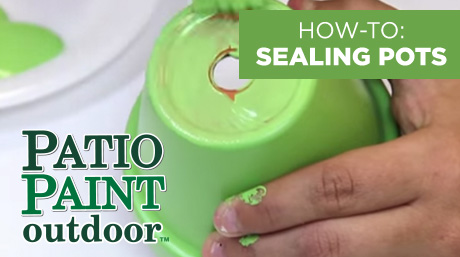 Sealing Terra Cotta with Patio Paint Outdoor