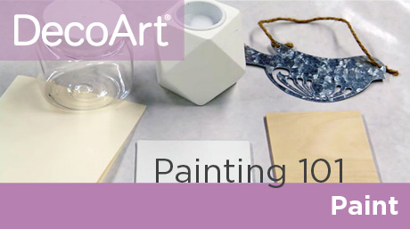 Canvas Painting 101 - Paint