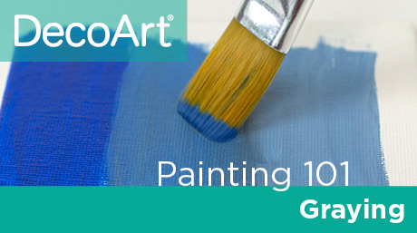 Canvas Painting 101 - Graying