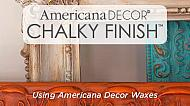 How to Use Chalky Finish Waxes
