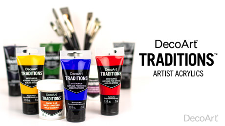 DecoArt Traditions Artist Acrylics