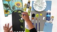 Art for Everyone - Art Basics - Basic Basecoat Brush Set