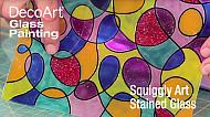 Learn a Simple Glass Painting Pattern