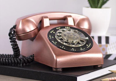 Extreme Sheen Vintage Rotary Phone