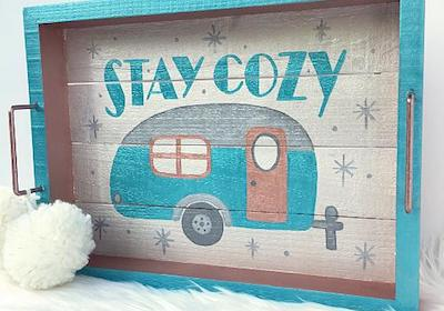 Stay Cozy Winter Tray