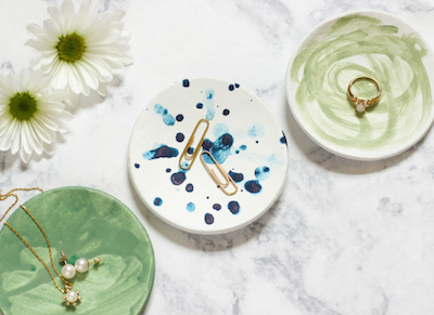 Air-Dry Clay Trinket Dishes