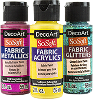 decoart sosoft fabric paint